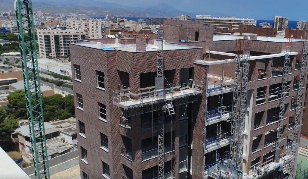 Las obras de Hacienda del Mar 2, en Alicante