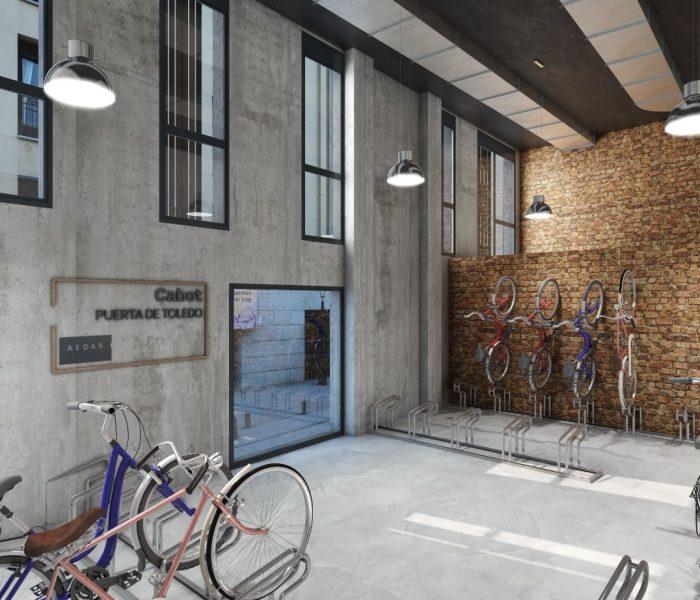 Cabot, tu casa en el centro de Madrid con garaje y parking de bicicletas