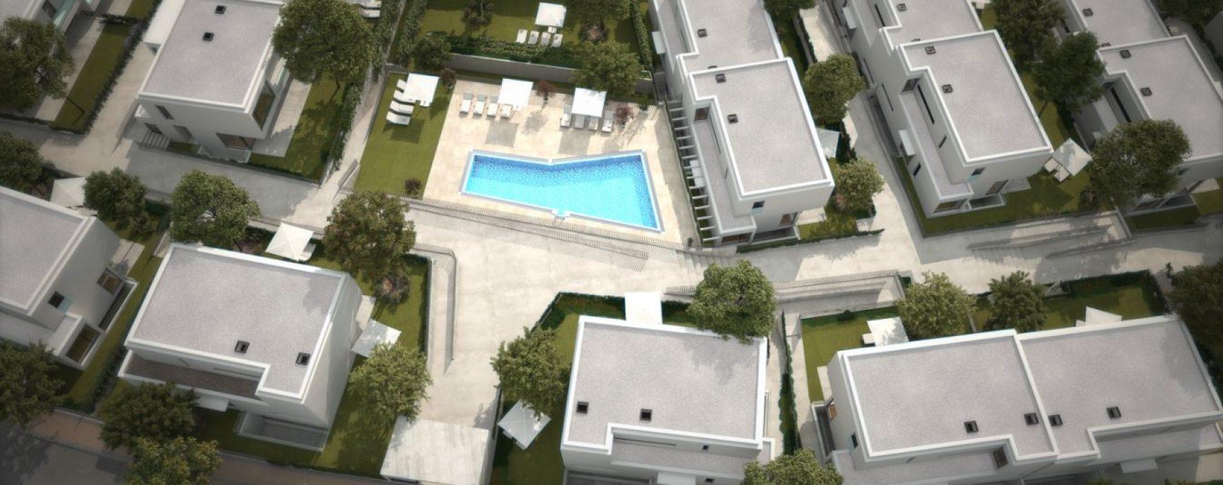 Viviendas con piscina y jard n en madrid as es tu casa for Obra nueva las rozas