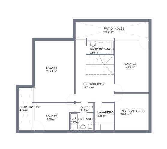Chalet obra nueva boadilla trendy pisos en venta c reyes for Chalet majadahonda obra nueva