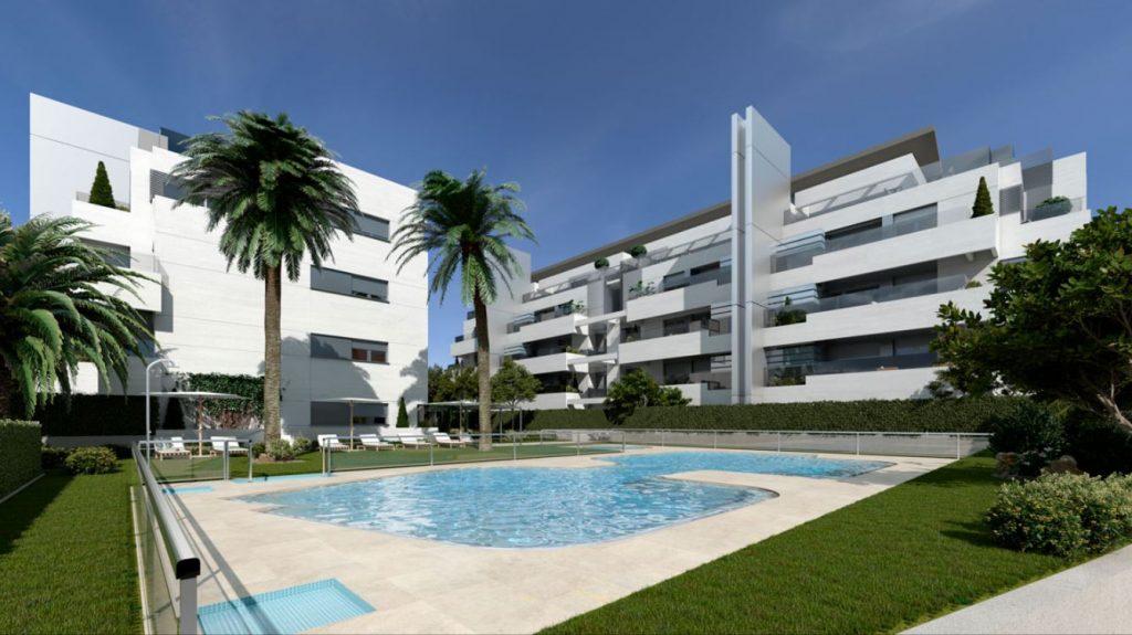 obra nueva madrid boadilla piscina terrazas fresnos