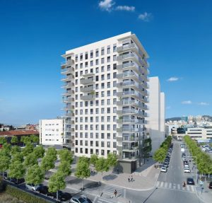 torre estronci obra nueva hospitalet llobregat
