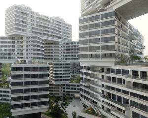 interlace singapur edificios modernos