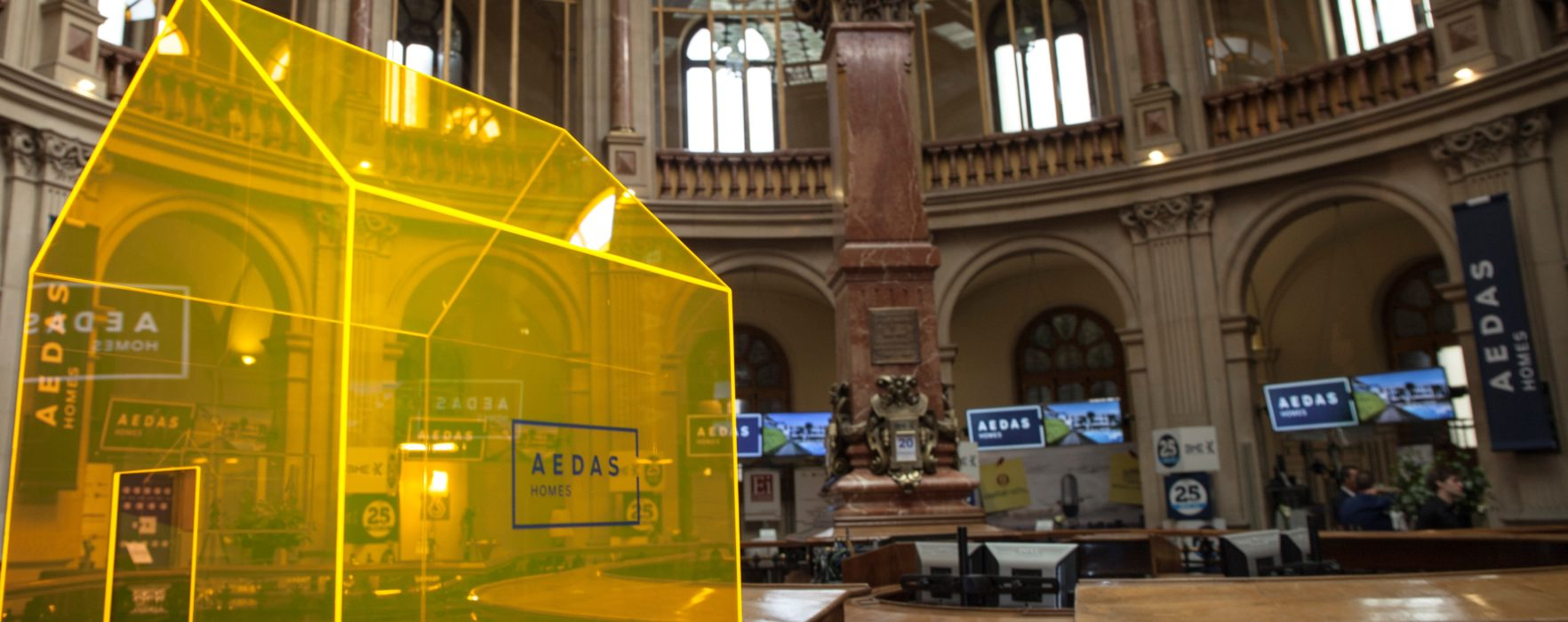 AEDAS Homes alcanza el umbral de rentabilidad  en su primer semestre como cotizada