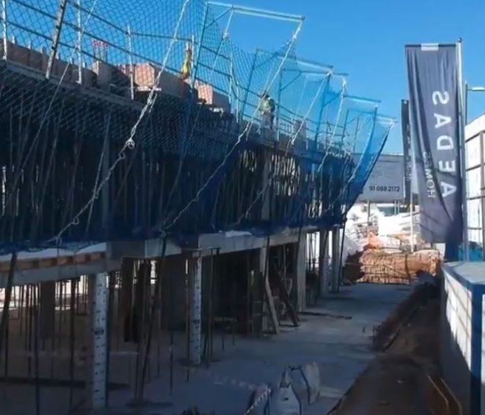 Vídeo: tu casa de obra nueva en Terrazas de los Fresnos, a vista de pájaro