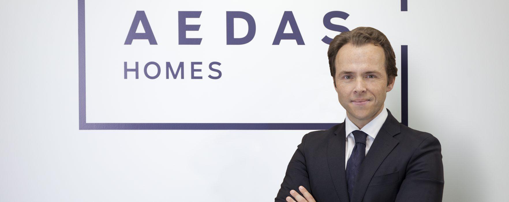 El director de Estrategia e Inversión de AEDAS Homes, ponente en Inmofondos 2017