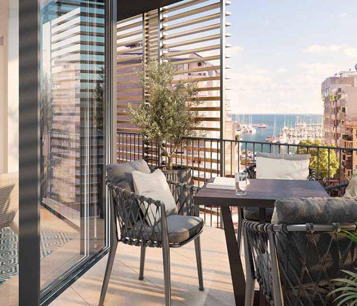 Tu casa de obra nueva en Doria 6, disponible: ya a la venta las viviendas 'prime' de Palma de Mallorca