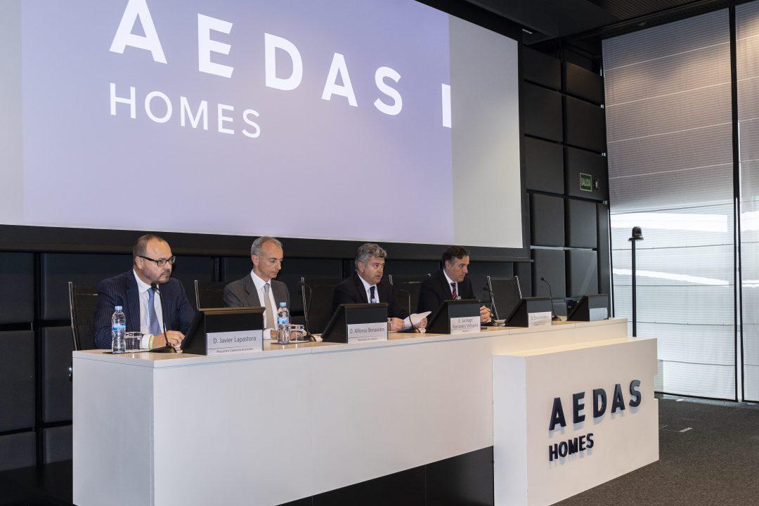 AEDAS Homes celebra su primera Junta de Accionistas en pleno rally bursátil
