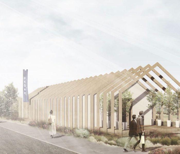 De madera, reutilizables y sostenibles: así serán las futuras 'show offices' de AEDAS Homes