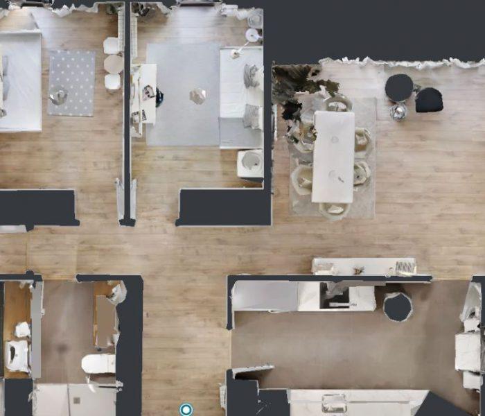 Visita virtual en 3D a tu casa de obra nueva en Sevilla: recorre Ramón y Cajal sin moverte del sofá