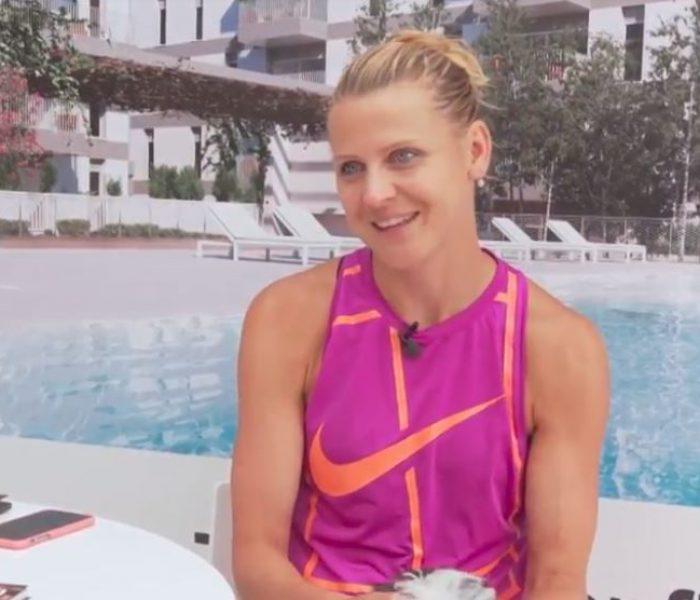 """La tenista Lucie Šafářová: """"Es fantástico volver a casa y que mamá cocine platos que no puedo disfrutar durante los torneos"""""""