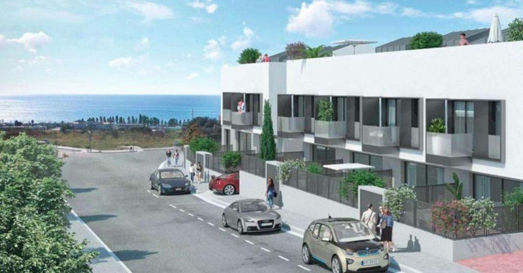 Dampier ofrece 20 chalets de obra nueva en El Masnou (Barcelona)