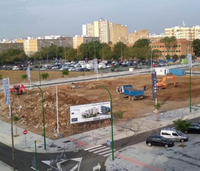 Armstrong, tu casa de obra nueva en el barrio de Cisneo Alto en Sevilla, empieza a construirse