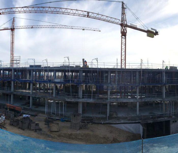 La estructura de Escalonia I, tu casa de obra nueva en Las Rozas, ya está terminada