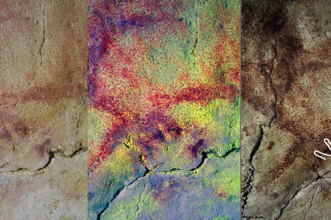 Dejando 'huella' en las paredes de 'casa': encuentran en Altamira los dibujos de tres manos no vistos hasta ahora