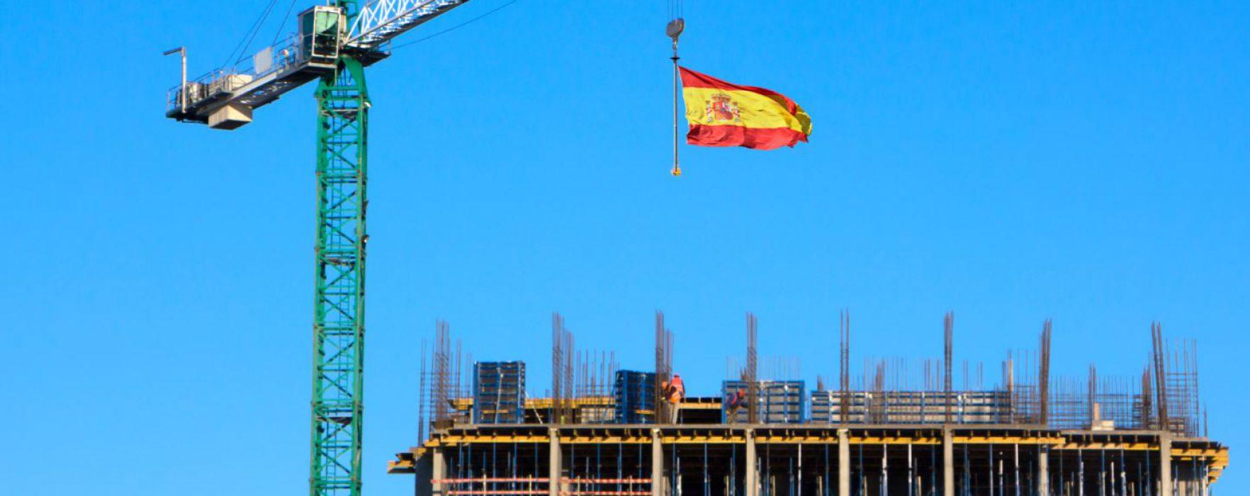¿Qué significa la puesta de bandera en un edificio en construcción?