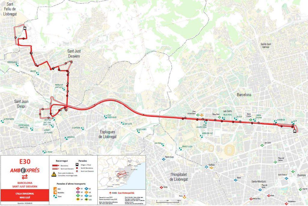 plano E30 linea