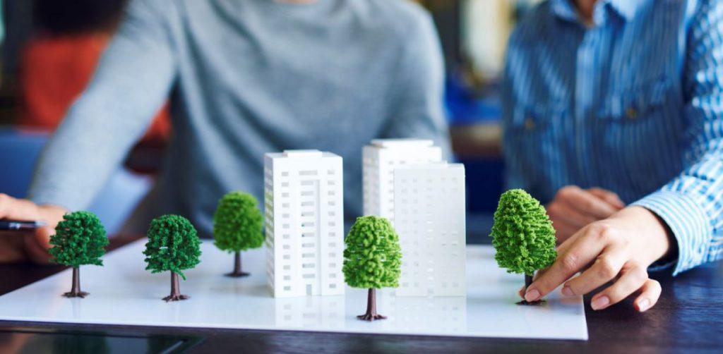 Usuarios de un proyecto de arquitectura ecológica