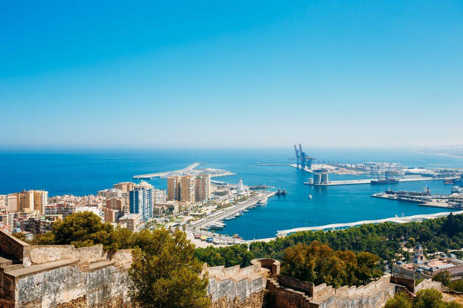 mejores zonas para vivir en Málaga