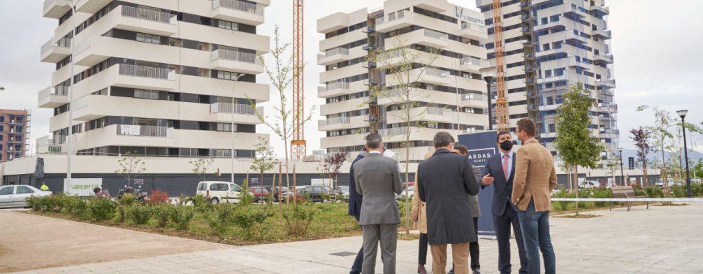 AEDAS Homes ya está levantando sus dos promociones en el sector Borde Norte N3 de Granada, Tarsia y Tabíes-2