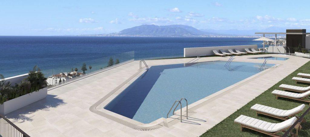 idilia views piscina rincon victoria malaga